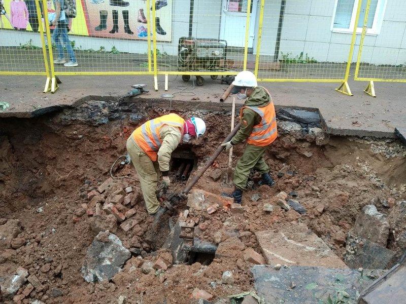 В Кирово-Чепецке началась реконструкция теплосети на проспекте Мира