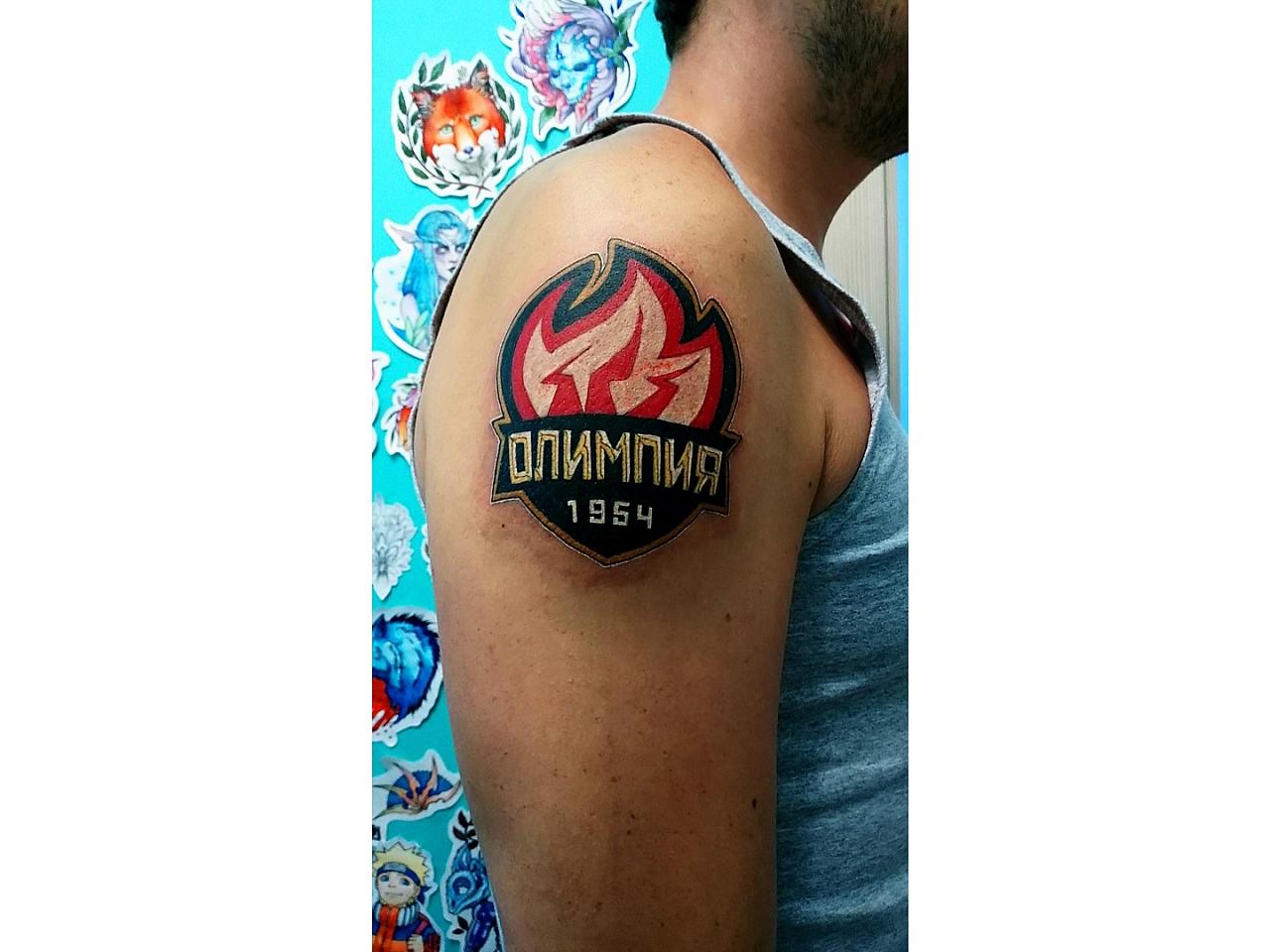 """Обращение в минспорта РФ и татуировка: чепчане продолжают поддерживать """"Олимпию"""""""