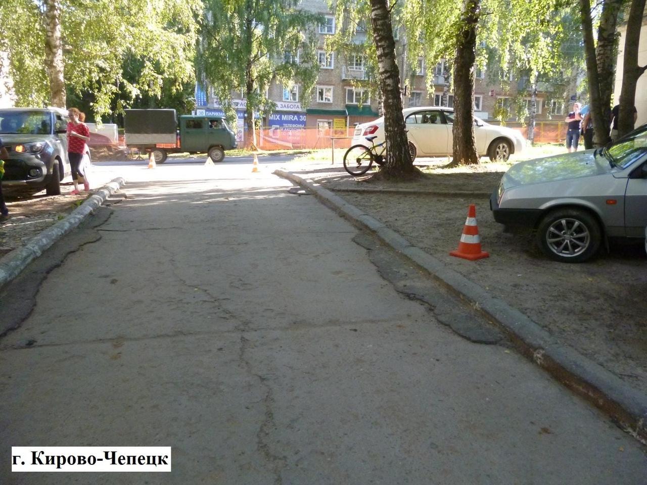 На проспекте Мира ВАЗ сбил 13-летнего велосипедиста