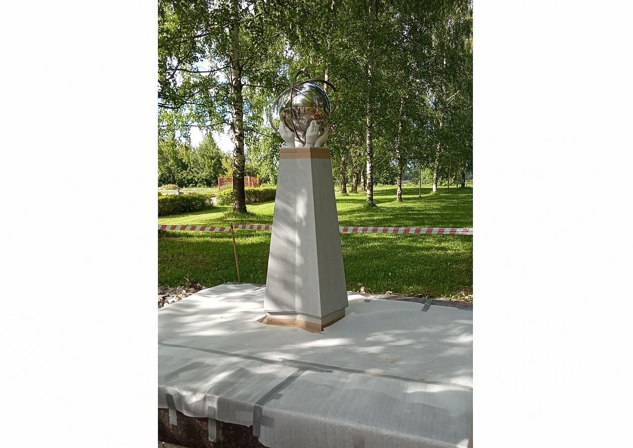 Фото дня: в Кирово-Чепецке установили памятный знак чернобыльцам