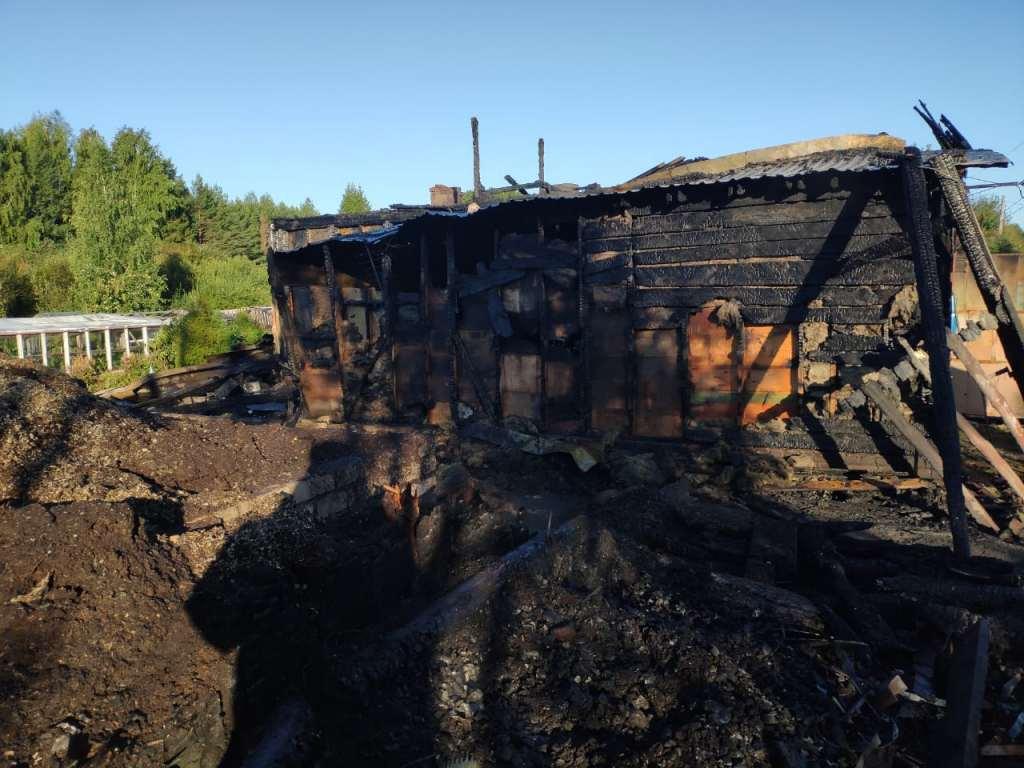 В Кирово-Чепецком районе произошел пожар: объявлен сбор погорельцам