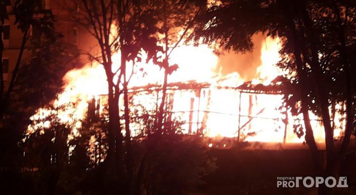 В Каринторфе произошел пожар в частном доме: погибли два человека