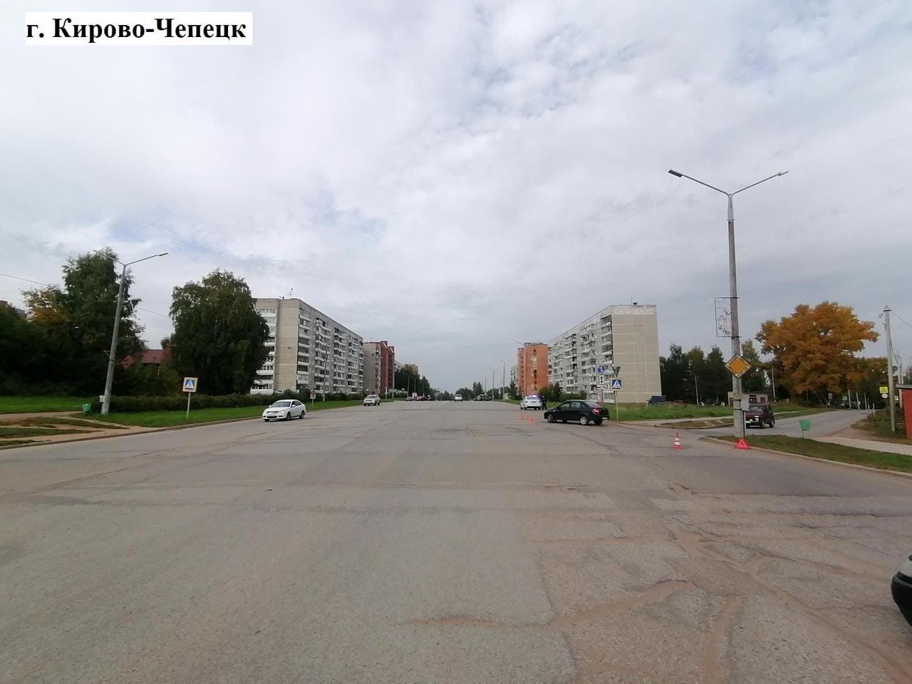 В Кирово-Чепецке на зебре «Лада» сбила 84-летнюю женщину