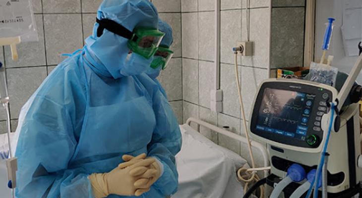 Число летальных исходов среди пациентов с COVID-19 в Кировской области достигло 124