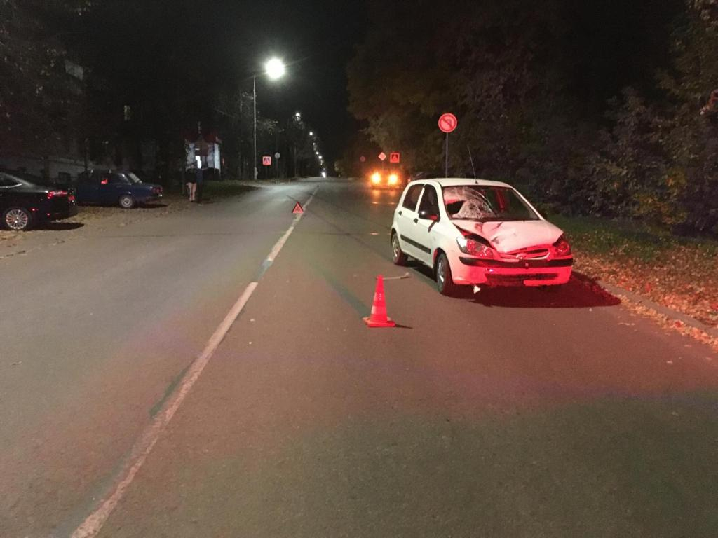 В Кирово-Чепецке водитель автомобиля «Хендай» насмерть сбил пешехода