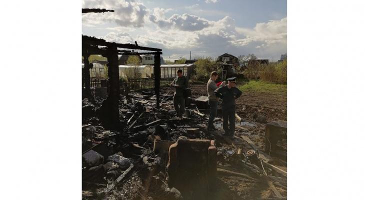 В Кирово-Чепецком районе после пожара в садовом доме нашли тело мужчины