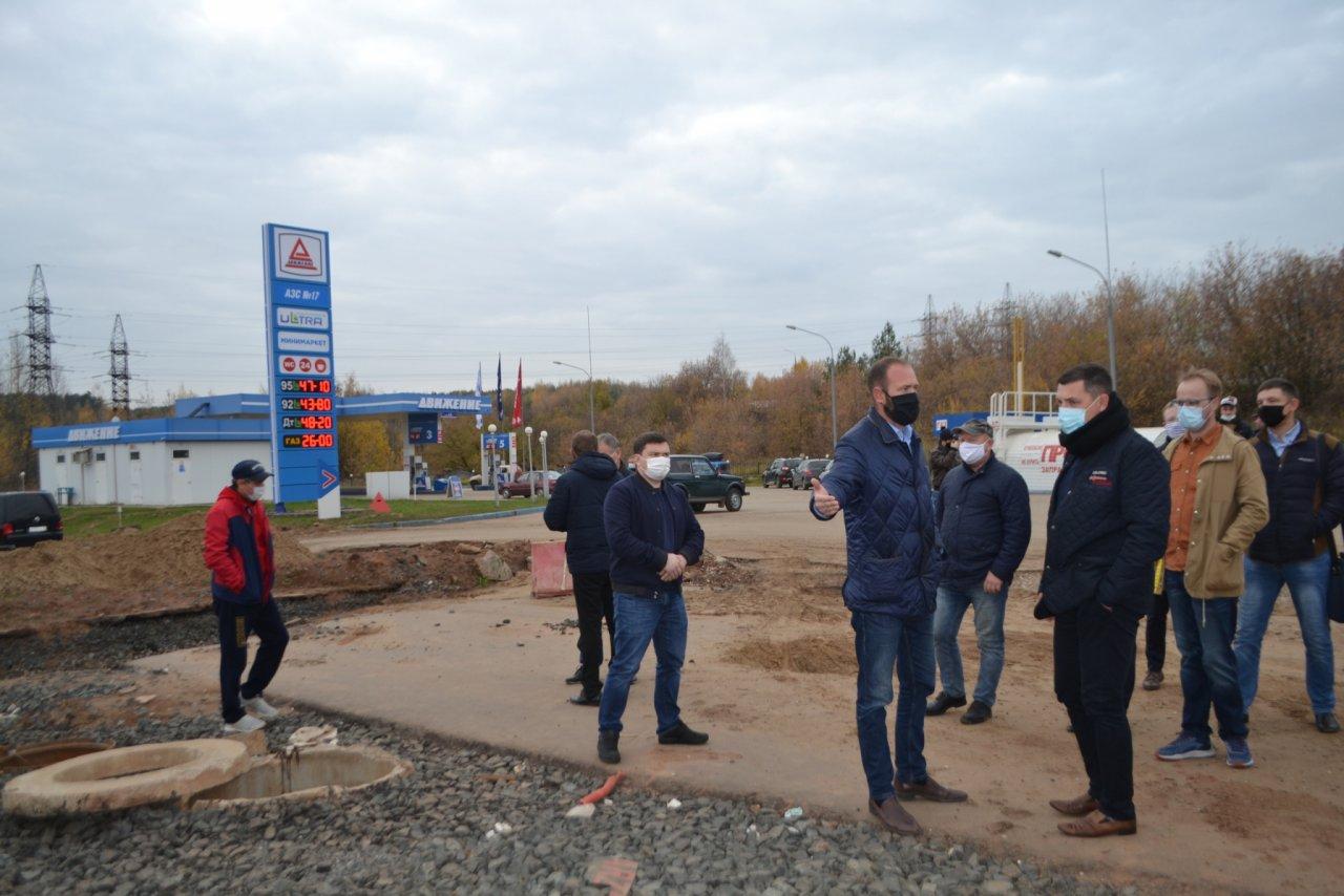 Ремонт развязки на Братьев Васнецовых в Кирово-Чепецке снова отложен из-за неучтенных сетей