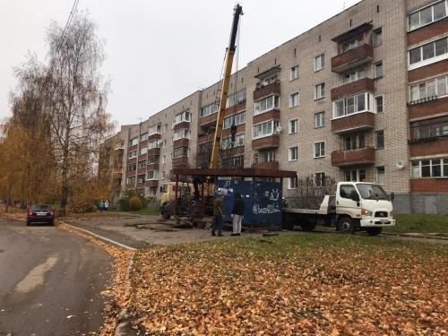 В одном из районов Кирово-Чепецка оборудуют новые остановки