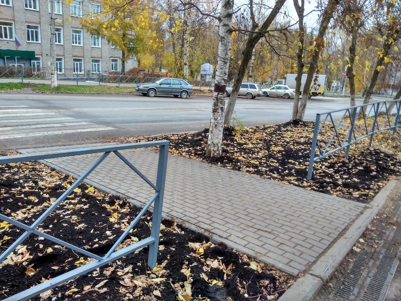 В Кирово-Чепецке на проспекте Мира завершены работы по благоустройству