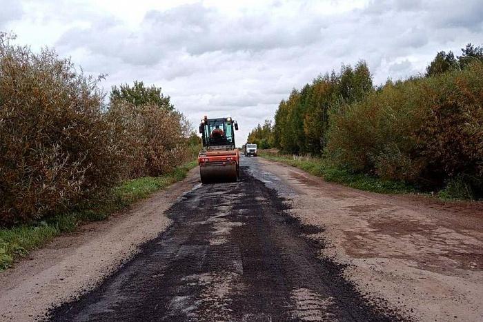 На автодороге Пасегово – Стрижи отремонтировали не тот участок