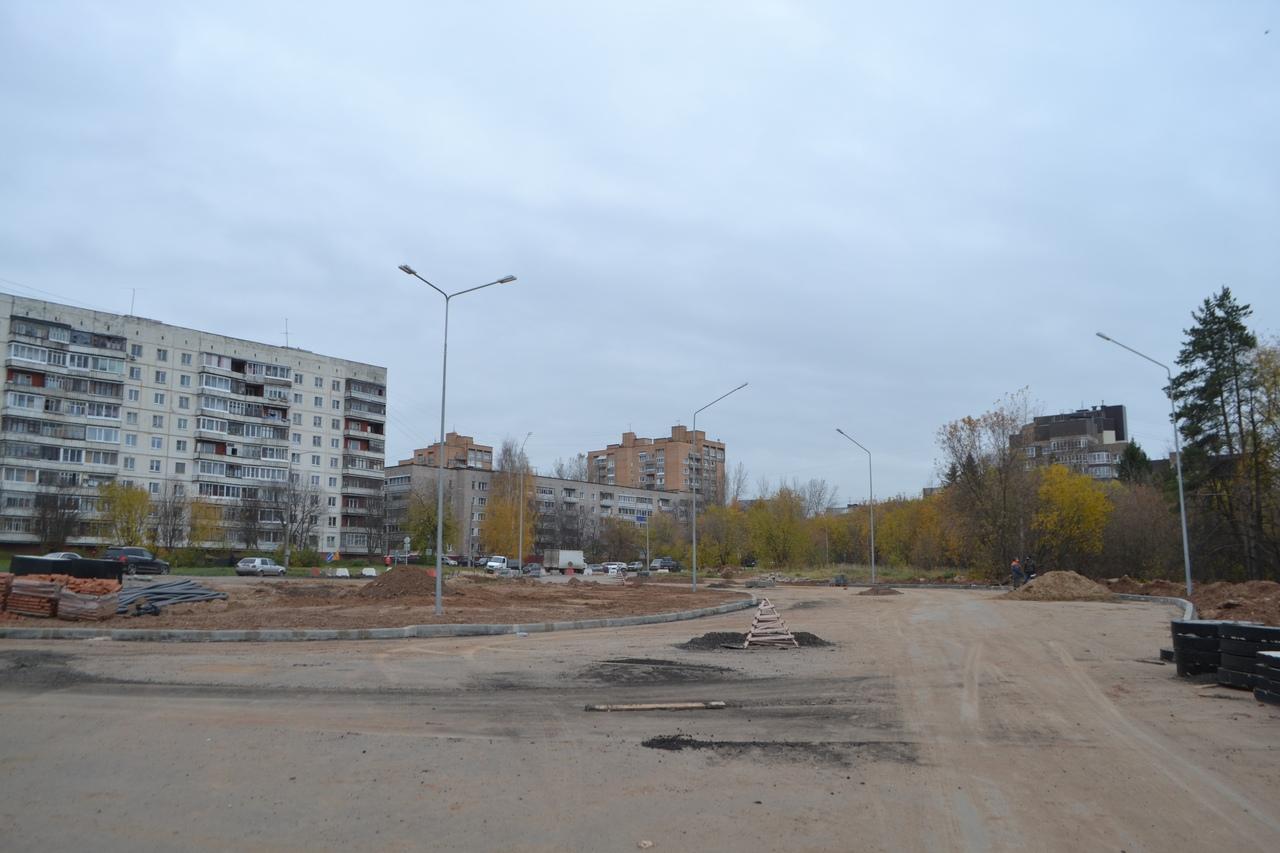 Окончание работ по реконструкции улицы Братьев Васнецовых перенесли на 2021 год