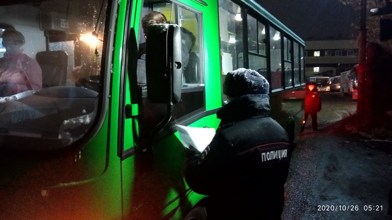 В Кирово-Чепецке усилили контроль за водителями автобусов