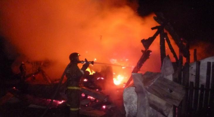 В Кирово-Чепецком районе в пожаре погибла пенсионерка