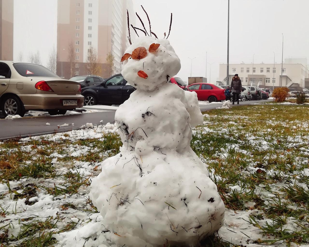 В Кирово-Чепецке начали принимать заявки на конкурс снежных фигур