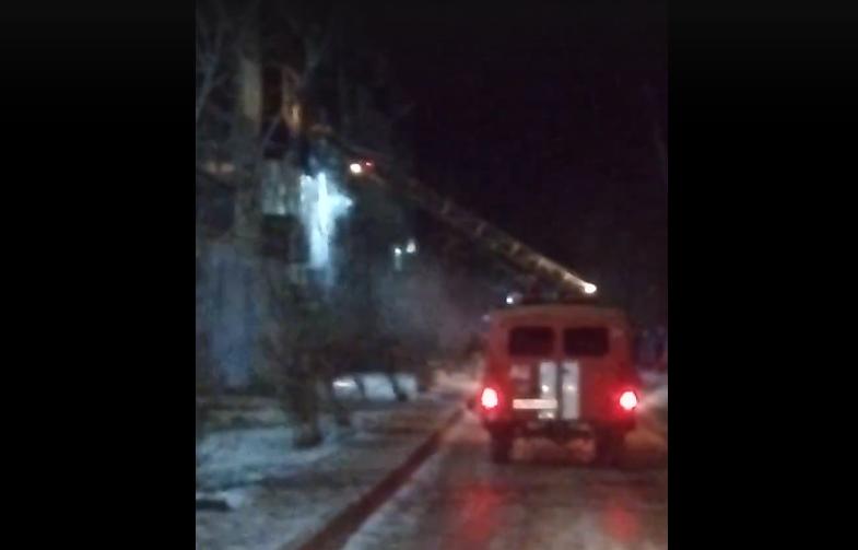В Кирово-Чепецке произошел пожар в квартире: есть пострадавшие